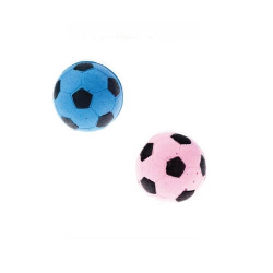 Balles football mousse pour chat (1)