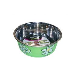 Gamelle Acier Inox Blossom Vert pour Chien (6)