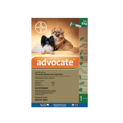 Advocate pour chiens jusqu'au 4kg (1)