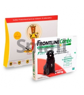 Pack Antiparasitaire Annuel BASIC FRONTLINE COMBO pour Chiens (1)