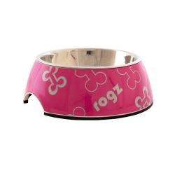 Gamelle Inox Pink Bones pour Chien (6)