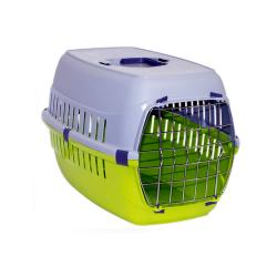 Cage de transport Verte pour chien (1)
