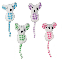 Souris en Peluche Couleurs Assorties per Chat