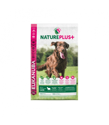Eukanuba-Nature Plus+ Adult Large Lamb (1)