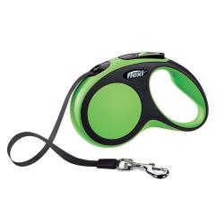 Laisse Extensible Flexi Confort Vert pour Chien