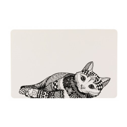 Dessous Zentangle pour Chat