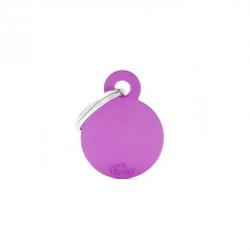 Circle Small Alluminum Violet (6)