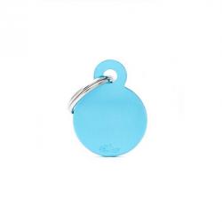 Circle Small Alluminum Bleu Clair (6)