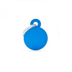 Circle Small Alluminum Blue (6)