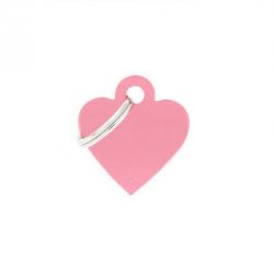 Heart Small Alluminum Pink (6)