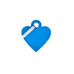 Heart Small Alluminum Blue (6)
