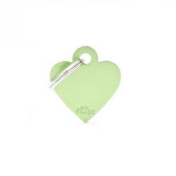 Heart Small Alluminum Green (6)