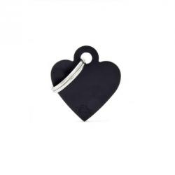 Heart Small Alluminum Black (6)