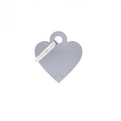 Heart Small Alluminum Grey (6)