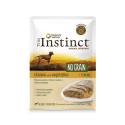 True Instinct-Instinc No Grain Medium Poulet aux Légumes 300Gr Boîte (1)