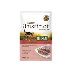 True Instinct-Feline No Grain Boeuf 70 Gr Boîte (1)