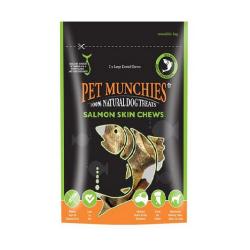 Snacks Naturels Saumon Skin Chews Large pour Chien (4)