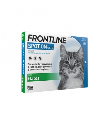 Frontline-Pipettes Antiparasitaires Chat (2)
