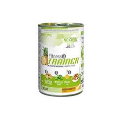 Fitness 3 Adult Medium-Maxi Vegetal (Sans céréales) Boîte (6)