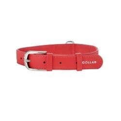 Collier Glamour en Pelle Rouge pour Chien (6)