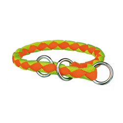 Collier Étrangleur Cavo Orange-Jaune neon pour Chien (6)