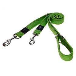 Laisse Nylon Multifonction Verte pour Chien (6)