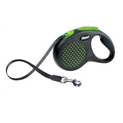 Laisse Extensible Flexi Design Vert pour Chien (6)