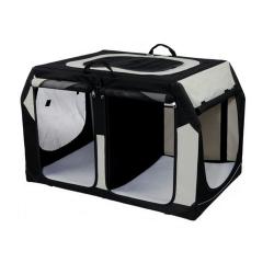 Cage de Transport Pliant Doble Vario pour Chien (1)