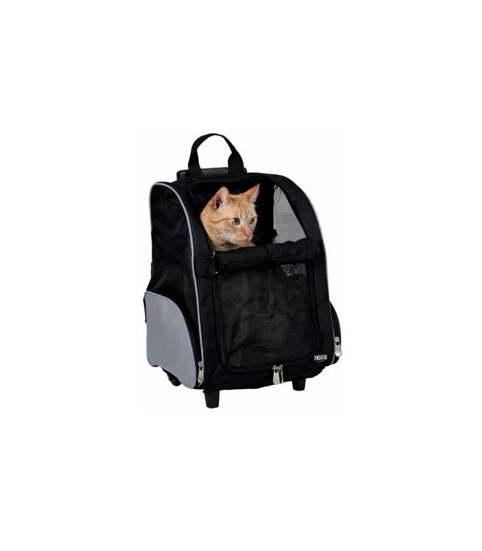 trixie sac dos trolley transport pour chien et chat. Black Bedroom Furniture Sets. Home Design Ideas
