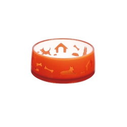 Gamelle Duoworld Oranje pour Chat (1)