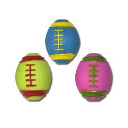 Mini Balle Rugby de Caoutchouc pour Chien (6)