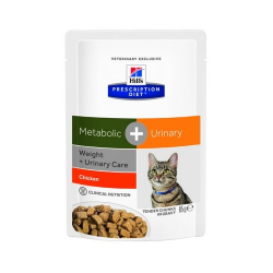 Hills Prescription Diet-PD Feline Metabolic+ Urinary 85gr (1)