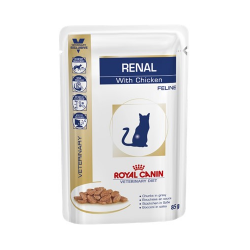 Royal Canin Veterinary Diets-Renal Aliment pour chats 85 gr (1)