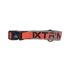 Collier X-TRM Nylon pour Chien, Couleur Orange Néon (6)