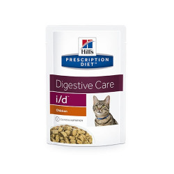 Hills Prescription Diet-PD Feline i/d sachet 85gr (1)