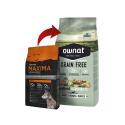 Ownat Grain Free Prime-Croquettes Adulte Poulet et Dinde pour Chien (2)