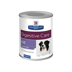Hills Prescription Diet-PD Canine i/d Low Fat Boîte 370 gr. (1)