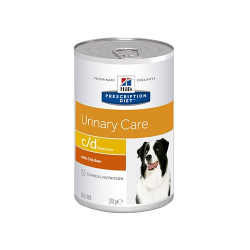 Hills Prescription Diet-PD Canine c/d 370 gr Boîte (1)