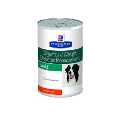Hills Prescription Diet-PD Canine w/d Boîte 370 gr (1)