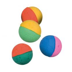 Pack 4 Balles en Mousse pour Chat (6)