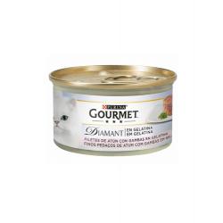 Gourmet Diamant-Tranches de Thon en Gélatine avec Crevettes (1)