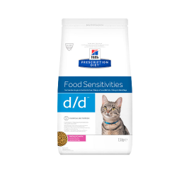 Hills Prescription Diet-PD Feline d/d avec Canard (1)