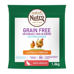 Feline Feed Clean Adult Pollo Stérilisé Grain Free