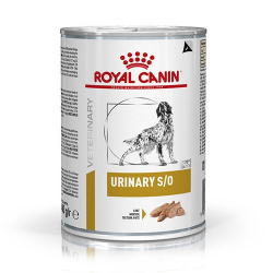 Royal Canin Veterinary Diets-Urinaire S/O en boîte 410 gr. (1)