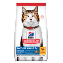 Hills-SP Feline Mature 7+ avec Poulet (1)