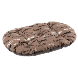 Cama Relax perro y gato Cities Brown Ferplast