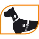 Arnes Easy Extra para perros Small Ferplast