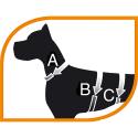 Arnes Ergotrekking P para perros Brown Ferplast