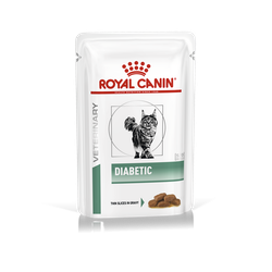 Royal Canin Veterinary Diets-Feline Diabetic sachet 100gr (1)