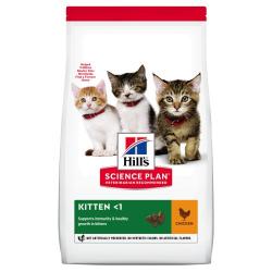 Hills-SP Feline Kitten avec Poulet (1)
